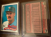 Wade Boggs Extremely Rare Cut Error Card One Of A Kind Find Wonandrsquot Last