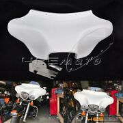 Detachable Front Batwing Fairing 6x9 Speakers Stereo For Harley Road King 94-17