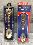 Lot Of 2 Lake Tahoe Collector Souvenir Spoons