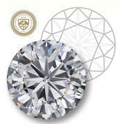 Gia Certified Round Cut 0.55-ct K-color Vs1-clarity 1.01-ratio Natural Diamond