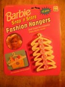 Barbie Fashion Hangers 1992 Nos New Old Stock In Box Vintage Toy Doll Clothes