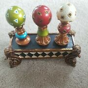Handpainted Wine Stopper Milson And Louis Gr8