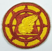 Wwii Us Army Transportation Corps Shoulder Insignia