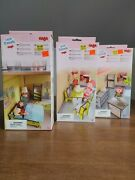 Little Friends Haba Lot Of 3 Bedroom Kitchen Dining Room New Free Shipping