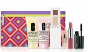 2 Pk Clinique 7 Piece Makeup And Skincare Gift Set In Sealed Bag New Fall 2020