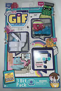 Oh My Gif - Gifs Gone Live 3 Bit Pack Working Out Doughby Factory Sealed