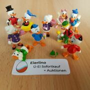80s Vintage Kinder Surprise Set - Donald And His Family - Disney Daisy Duck