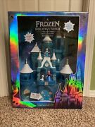 Disney Parks A Frozen Holiday Wish Castle Playset W/ Sounds Music And Lights