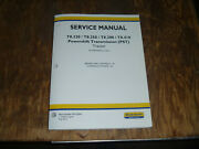 New Holland T8.320 T8.350 Tractor Pst Brakes Hydraulic Service Repair Manual