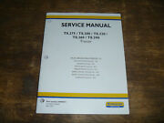 New Holland T8.275 T8.300 T8.330 Tractor Brakes Steering Service Repair Manual