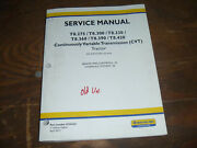 New Holland T8.360 T8.390 T8.420 Tractor Hydraulic Brakes Service Repair Manual