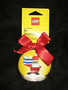 Lego City Santa Claus Bauble Christmas Ornament Red 23 Pcs For Holiday Stocking