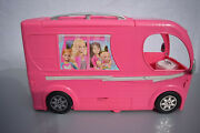 Barbie Rv Camper Pop Up Dolls Vehicle Girls Camping Toy Trailer 2014 Used