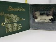 Dept 56 Snowbabies Hold On Tight 79561