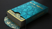 Paisley Royals Teal Playing Cards Deck By Dutch Card House Company Brand New