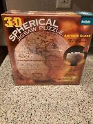 3d Spherical Antique Globe Jigsaw Puzzle Buffalo Games New