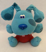 Blues Clues All Ears Blue Vintage Puppy Dog Fisher Price 2000 Toy Sounds Music