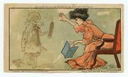 1906 Set Of Six Magic Invisible Ink Novelty Postcards Famous Newspaper Comic St