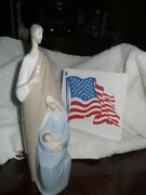 Lladro Joseph Mary And Baby Jesus No.4585 Good Condition On Sale