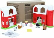 New Fisher Price Little People Animals Friends Farm - Frustration Free Package