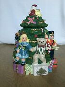 Spode Christmas Toy Cookie Jar