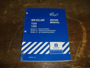 New Holland 1089 1095 Bale Wagon A/c Electrical Wiring Diagrams Manual