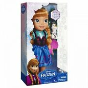🔥disney Frozen Toddler Anna Doll With Olaf Royal Reflection Eyes✨✨rare ✨✨