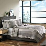 Eddie Bauer Home   Fairview Collection   100 Cotton Reversible And Light-weight Q