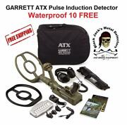 Garrett Atx Metal Detector. Great 4 Gold Prospecting, Relic And Jewelry Auth. Dlr