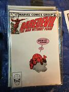 Lot Of 4 Issues Of Daredevil Vol. 1, 187, 188, 189, 190 Vg/f