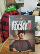 Rocky V Dvd 2004 Colour English French Spanish Widescreen + Full Brand New