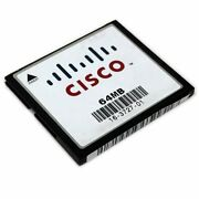 Cisco 64mb Compact Flash,256mb Memory For Cisco 1800 Series Router W/ Brackets
