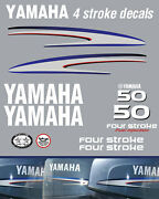 Yamaha 50hp 4 Stroke Fuel Injected Outboard Decals