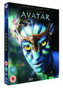 Avatar Blu-ray/dvd, 2012, 2-disc Set, Limited Edition 2d/3d New W/slipcover