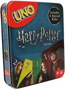 Harry Potter Uno Card Game In Metal Tin Includes A Special Rule Fnc43 New