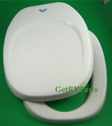 Thetford Rv Toilet Seat And Lid Cover Replacement Kit White Fits Aqua Magic Iv