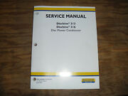 New Holland Discbine 313 And 316 Disc Mower Conditioner Shop Service Repair Manual