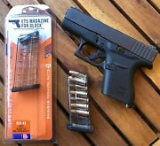 Ets 7 Round Flush Fit Mag For Glock 43 - 100 Reliability