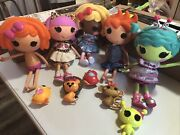 Mao Lc 5 Lalaloopsy Dolls Full Size Complete Ace Dot Kat Haley ++