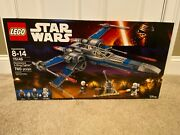 Lego Star Wars 75149 Blue X-wing Resistance Fighter - New Sealed Retired