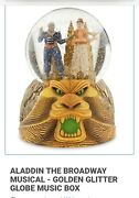 Broadway Aladdin The Musical Snow Globe Collectible Plays Friend Like Me Disney