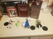 Read Or Die R.o.d. Tv Series Complete With Figures Manga Dvd And Book Htf Oop