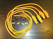 Kawasaki Z900 Taylor Hot Orange Ignition Leads And Colour Moulded Plug Caps.