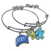 Alex And Ani Disney Parks Monsters University Top 2 Students Sulley And Mike Wa...