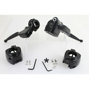 Demon's Cycle Blk Handlebar Control Kit W/out Switches 15-19 Softail