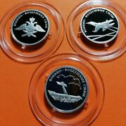 Russia 2009 Set 3x1 Ruble Air Force
