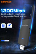 150/300/600/1200 Mbps 2.4/5ghz Usb Wifi Network Adapter Antenna 802.11b/g/n/ac