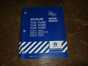 New Holland Tc40 Tc40d Tractor Steer Platform Electrical Wiring Diagrams Manual