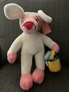 Vintage 18 Pink Panther Plush Dressed As Easter Bunny