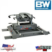 Bandw Patriot Slider 18k Rail Mounted 5th Wheel Hitch Trailer Hitch Without Rails